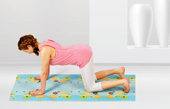 Best Exercises For Hiatal Hernia - Cow Pose