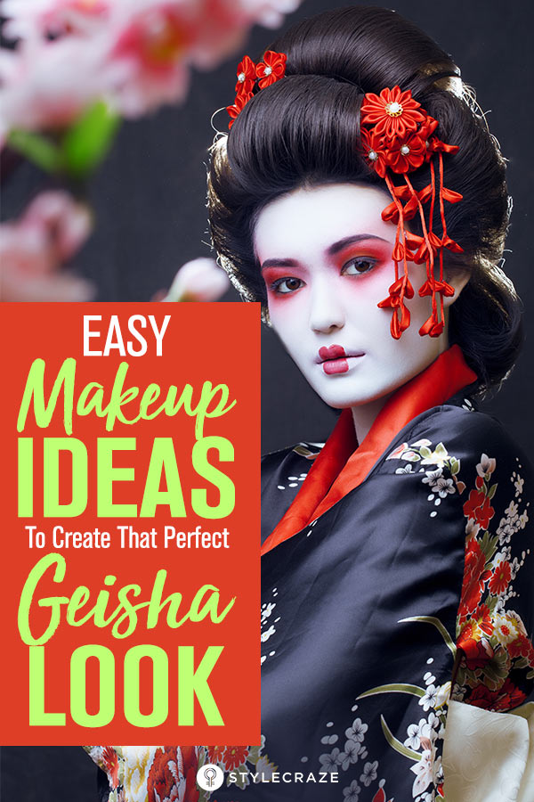 All About Geisha Makeup Here S How You Can Get The Look
