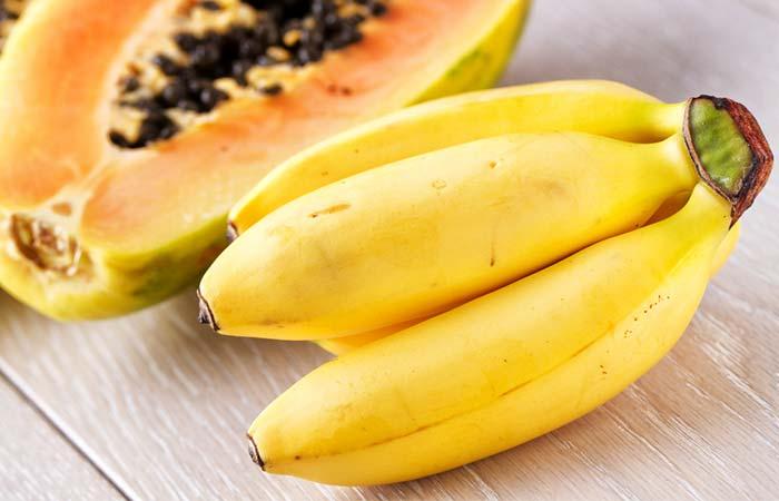 Papaya And Banana