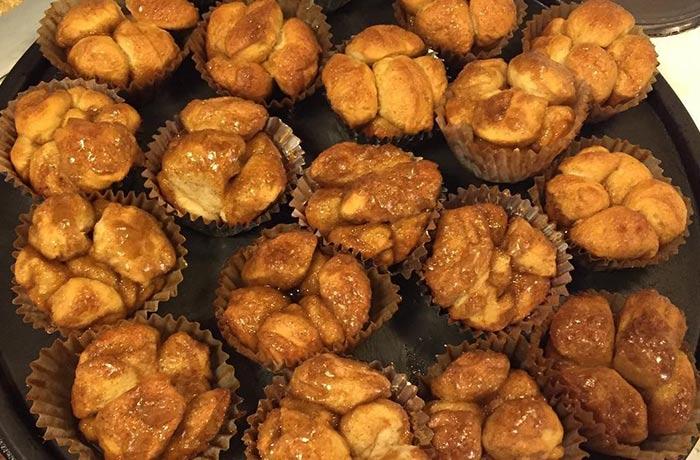 Milky Way Mini Monkey Bread Muffins