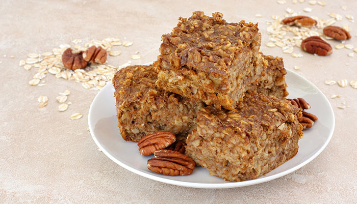 Pumpkin And Pecan Bars