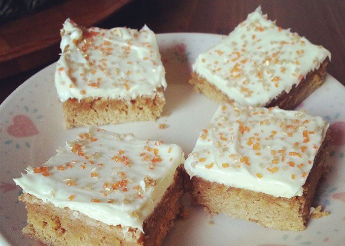 Pumpkin Chai Latte Bars