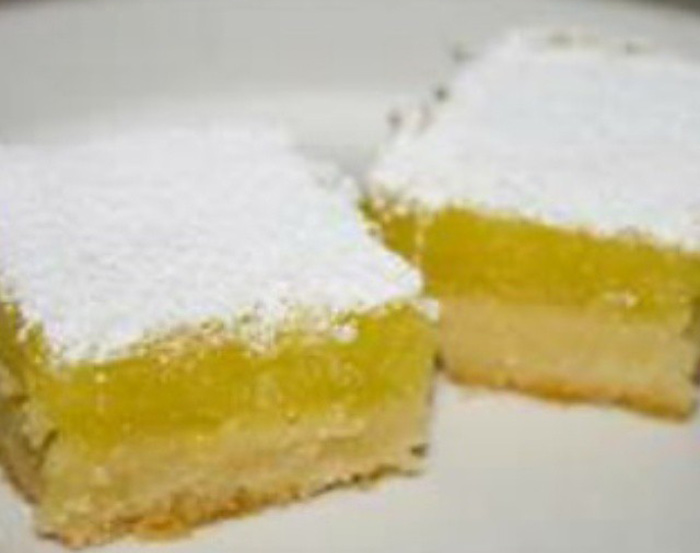 Sweet And Sour Lemon Bars