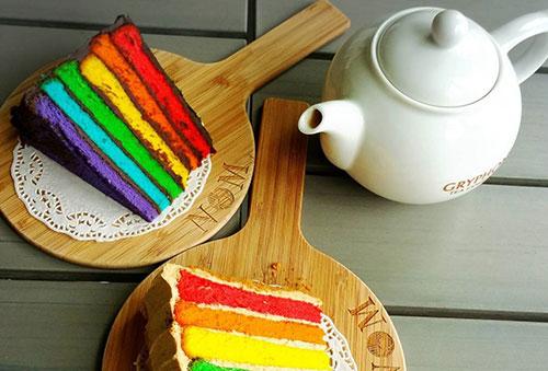 Trendy Rainbow