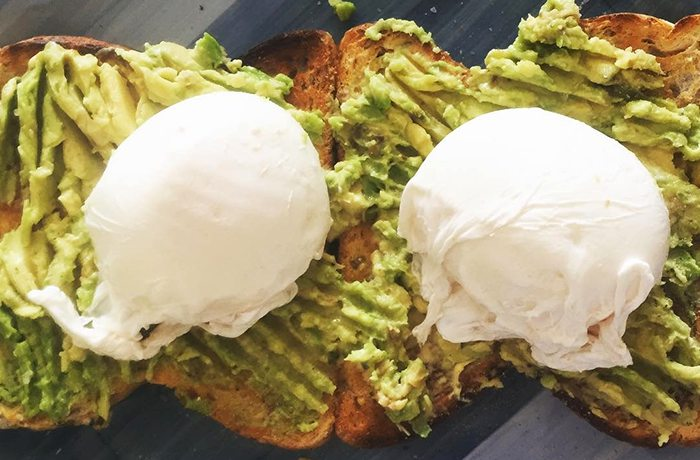 Avocado Poached Egg Toast