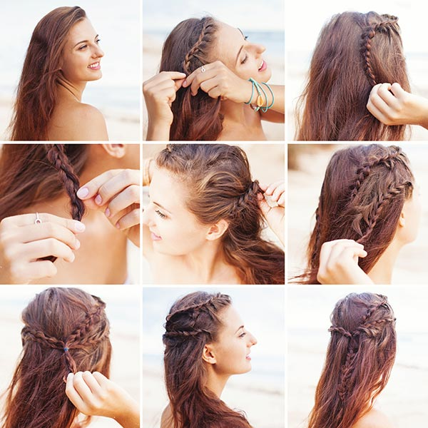 Greek-Style Braids