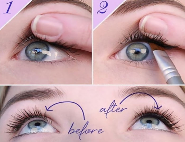 Make Eye Lashes Instantly Thicker