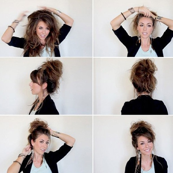 Super-Messy Bun