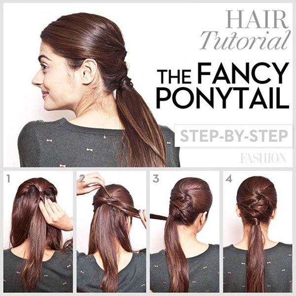 The Fancy Ponytail