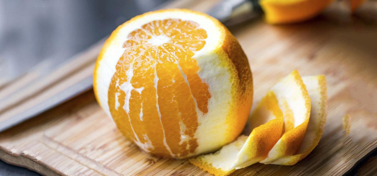 Never Throw Away Orange Peels