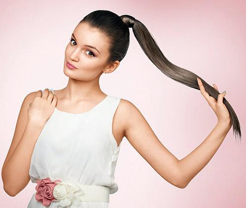 Hair Wrap Ponytail