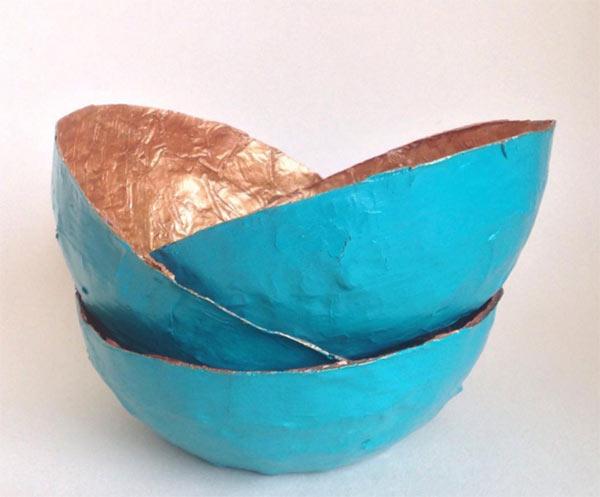 Papier Mache Bowls