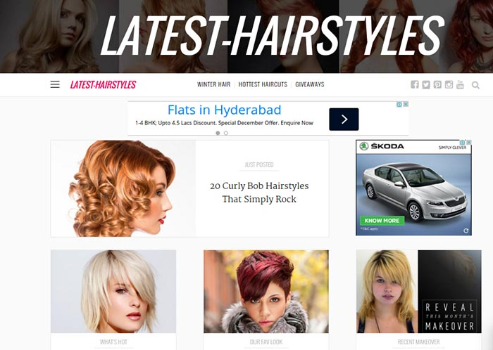35 Best Hairstyle Blogs for Women 2019