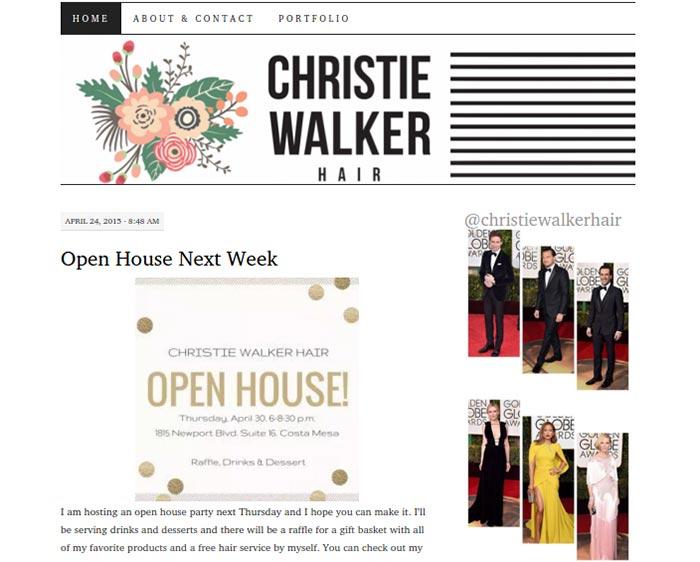 Christie Walker Hair