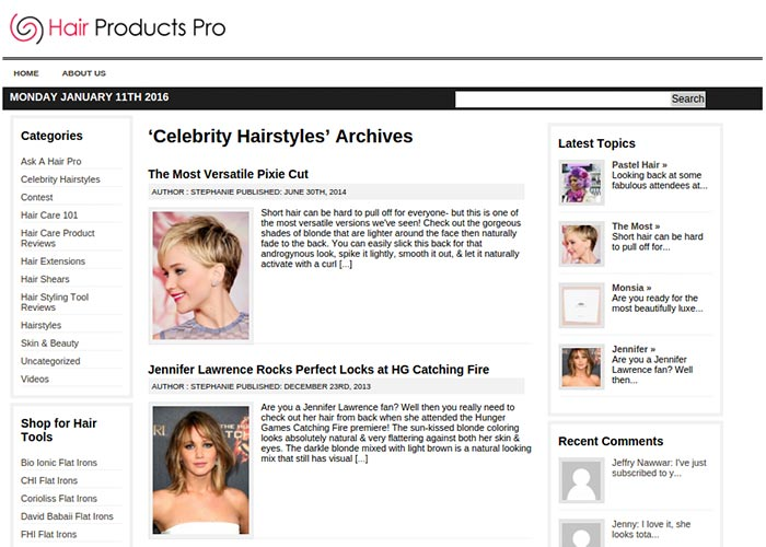 Hair Products Pro