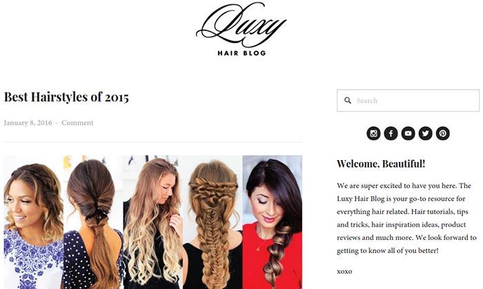 LuxyHair Blog