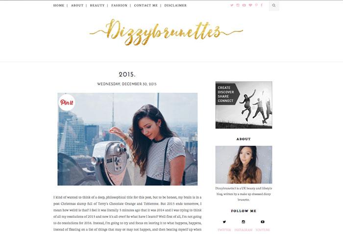 Dizzy Brunette