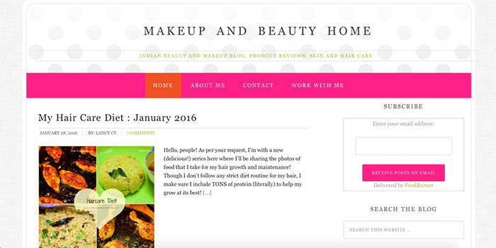 Makeup And Beauty Home