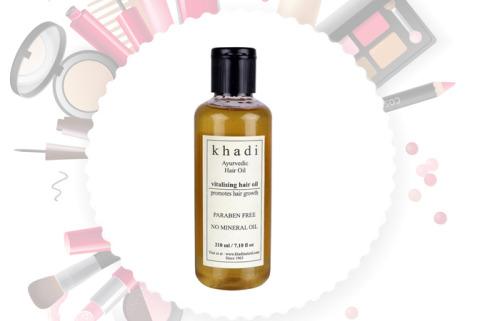 Khadi Ayurvedic Hair Growth Vitalising Hair Oil
