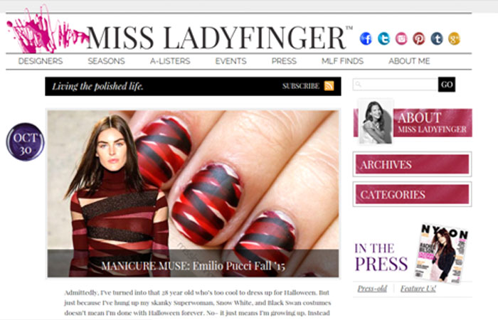 Miss Ladyfinger