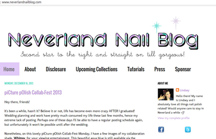 Neverland Nail Blog