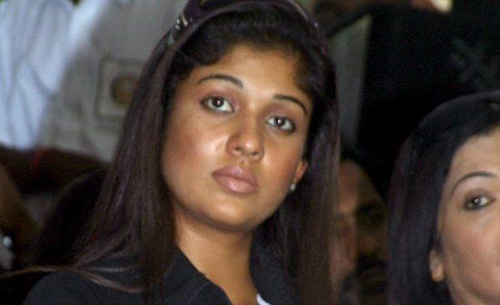 The Deep In Thought Look of Nayanthara Photo Without Makeup