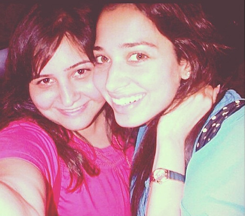 Tamanna's Selfie With Her Friend