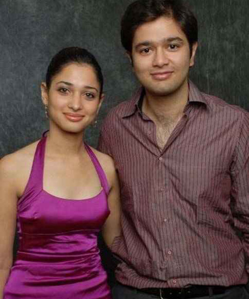 Tamanna Bhatia in Prom Princess Look Without Makeup