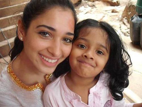 The Big Sister  - Tamanna Without Makeup