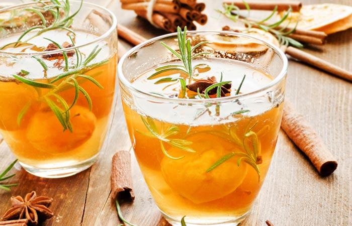 Detox Drinks - Rosemary Infused Cinnamon Water