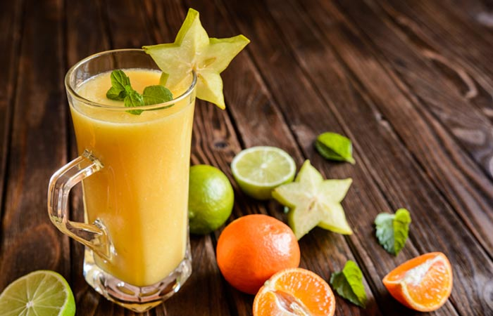 Detox Drinks - Star Fruit Smoothie