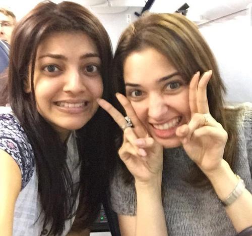 Tamanna With Kajal Agarwal