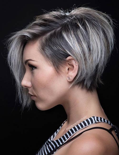 Low Maintenance Fine Hair Short Layered Haircuts 95