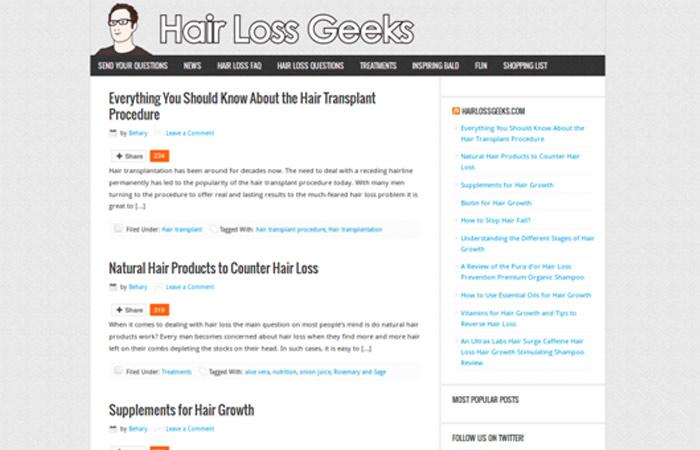 Hair Loss Geeks