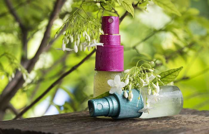 Homemade Essential Oil Spray