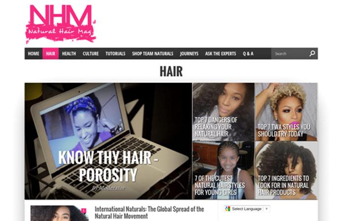 Natural Hair Mag