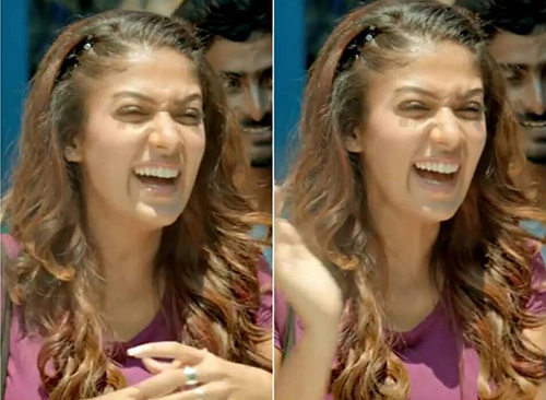 Nayanthara Without Makeup - The Bubbly Look