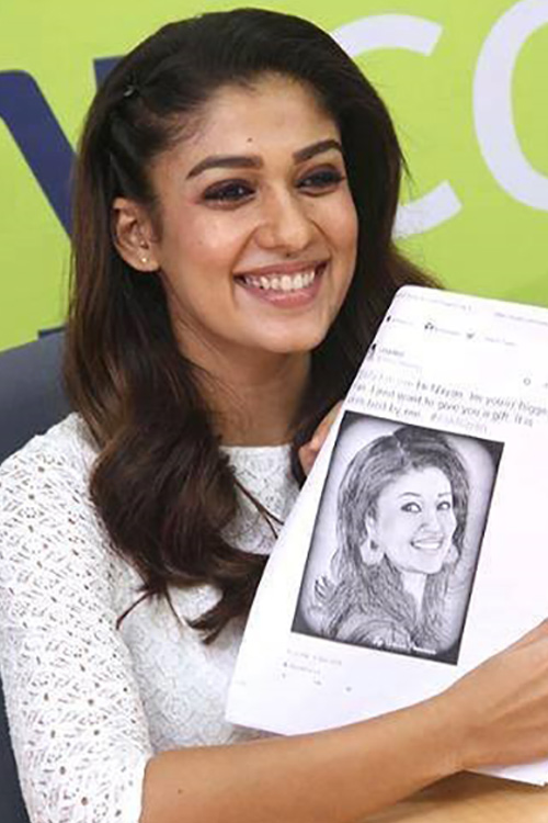 The De-Glam Look of Nayanthara Without Makeup