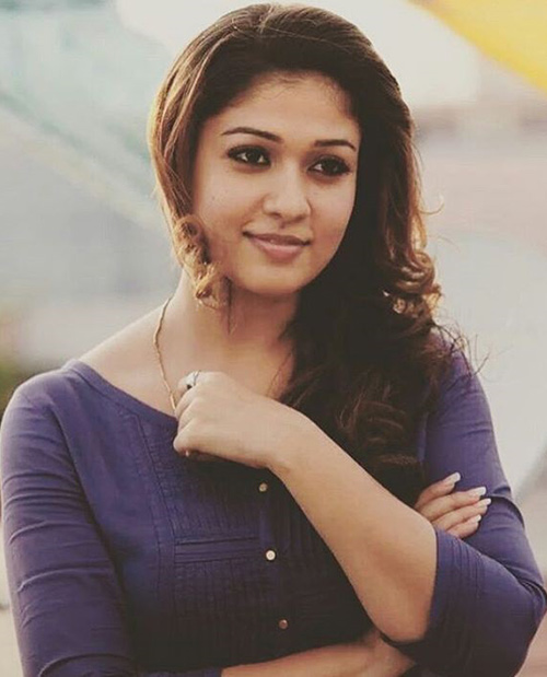 Nayanthara Without Makeup - The Demure Diva Look