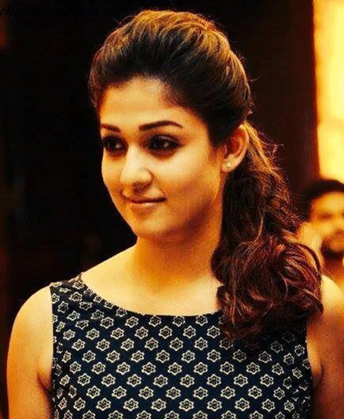 The Hassle Free And Edgy Look of Nayanthara Without Makeup