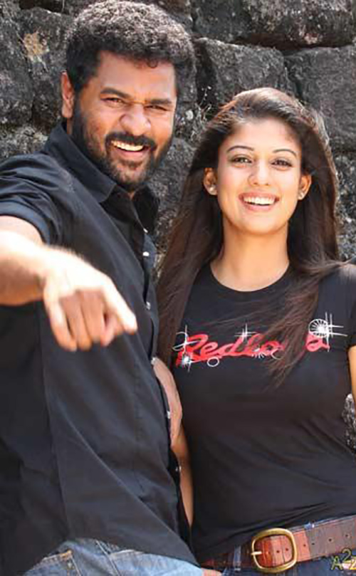 Nayanthara And Prabhu Deva – The Vibrant And Breezy Look