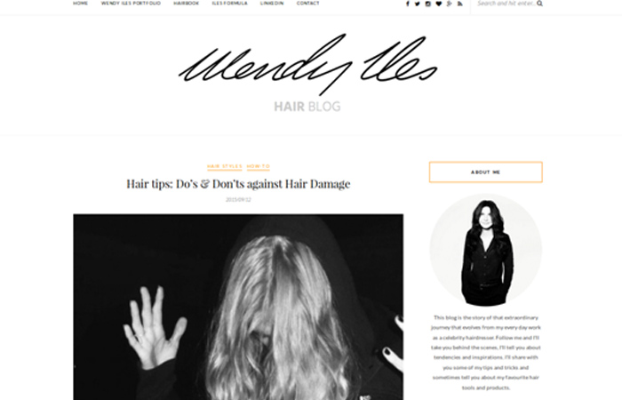 Wendy Iles Hair Blog
