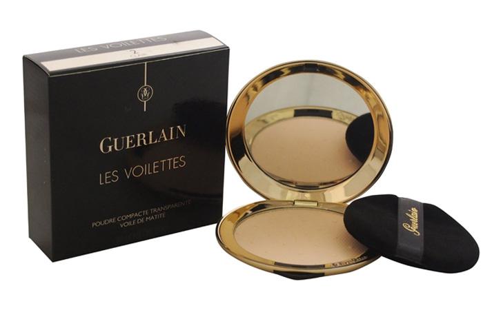 Guerlain Les Violettes Translucent Compact Powder Mattifying Veil