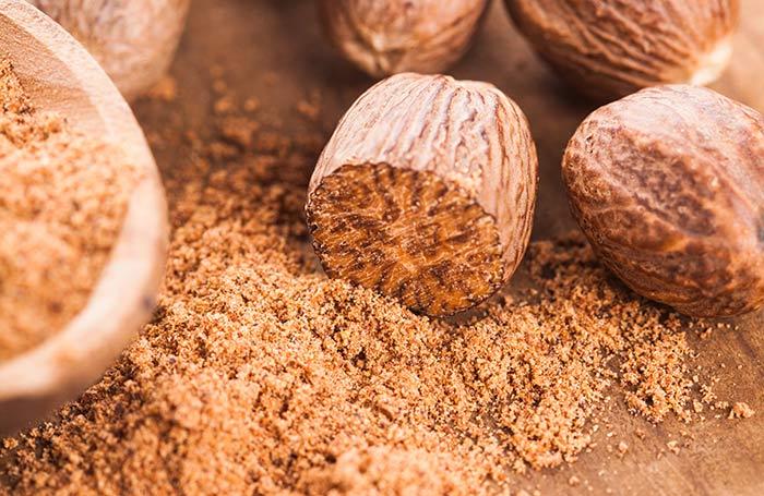 2. Nutmeg