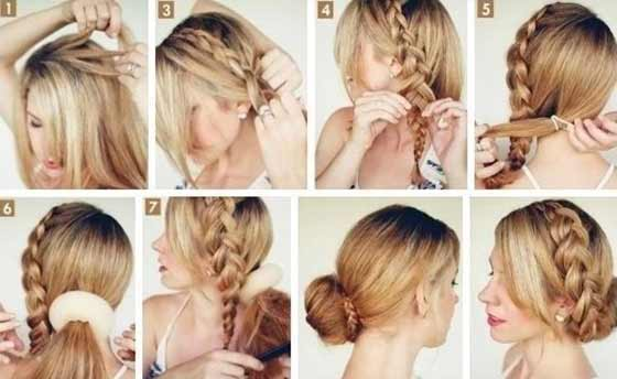 Ballerina-Bun-With-A-Side-Braid