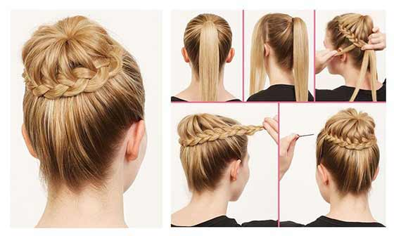 Image result for ballerina bun hairstyle