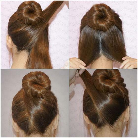 Criss-Cross-High-Bun