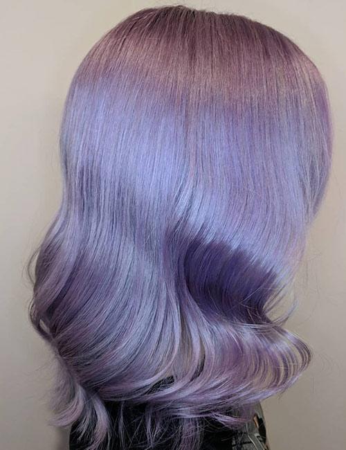Lilac Hollywood Curls