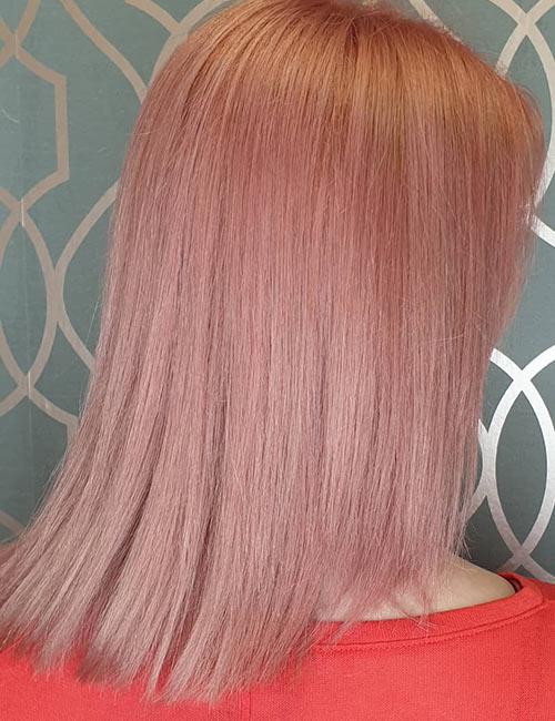 Rose Gold U-Cut