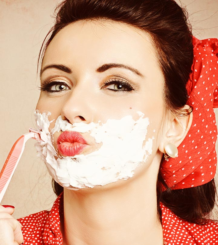 Should Women Shave Their Face? Here's Why Some Beauty Experts Vote Yes